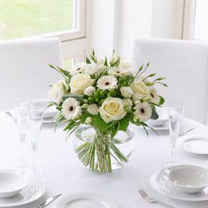 Blancos Clasicos Globo Floral
