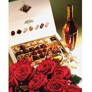 15 Roses/Cognac/Chocolate